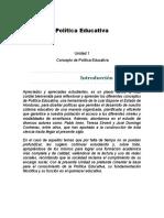 Compendio de Politica Educativa 1