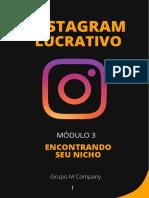 Módulo 3 - Instagram Lucrativo