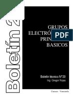 20. GRUPO ELECTROGENOS PRINCIPIOS BASICOS