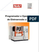 Programador e Operador de Eletroerosao a Fio