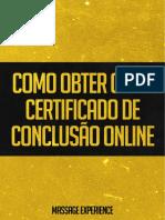 Como Receber Certificado