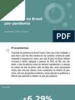 Os dilemas econômicos no Brasil pós-pandemia