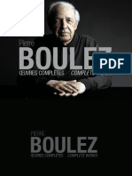 Boulez - Oeuvres Completes (Booklet)