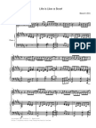 [Sheet Music] Rie Fu - Life Is Like A Boat