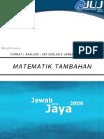 Jawab untuk Jaya Pahang 2006