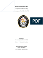 Tata Firmansyah_018_Assignment Product Costing