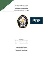 Tata Firmansyah 018 Assignment Budget