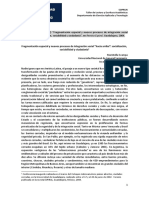 Fragmentación espacial y nuevos procesos de integración social `hacia arriba´
