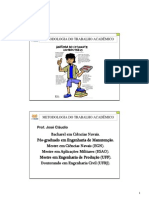 2008-08-14 Metodologia do Trabalho Academico