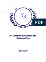 M. Diamond Resources, Inc.'s BP