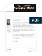 Innovation Watch Newsletter 10.05 - February 26, 2011