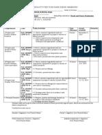 SHS List of activities