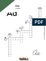 Crucigrama Del Abecedario