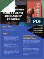 Scholarship Flyer2021