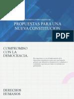 Propuestas Nueva Constitucion
