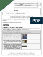 3. COMPONENTES DEL COMPUTADOR GRADO SEXTO 2021