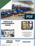 CARTILLA ALMACENAMIENTO SEGURO