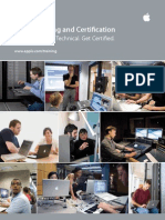 Apple Training and Certification Catalog