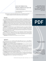 Artigo - Erros na dispensação de medicamentos em ambiente hospitalar