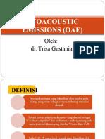 Otoacoustic Emissions (Oae)Nia