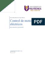 Control de Motores Eléctricos Reley