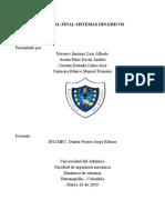 Parcial sistemas dinamicos