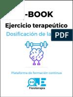 E-Book. Ejercicio terapeútico.