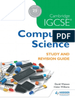 Computer Science Study and Revision Guide(学习与复习指南)