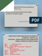 Peraturan Menteri Ketenagakerjaan Nomor 12 Tahun 2015