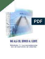 Mas Alla Del Servicio Al Cliente - Mod 1a