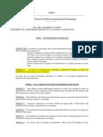 (.1)LOI N3-91 SUR LA PROTECTION DE L'ENVIRONNEMENT (2)