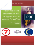 The Power of Self Manifestation