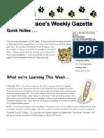newsletter 2-28-11