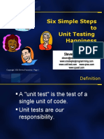 Six Simple Steps to Unit Testing Happiness