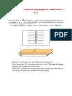 Tp Poutre Composite-flexion