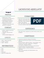 Mint Green Lines Photo Marketing Assistant Modern Resume (2)
