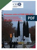 Dictamen sobre el PAM 2020-2023