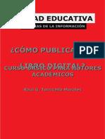 Torricela Morales como publicar un libro digita curso basico para autores academia-
