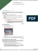 Upgrading or Replacing the Processor Compaq Presario 6019WM