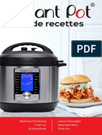 Instant Pot Pressure Cooker Recipe Book North America FRENCH July 20 2018 Reference