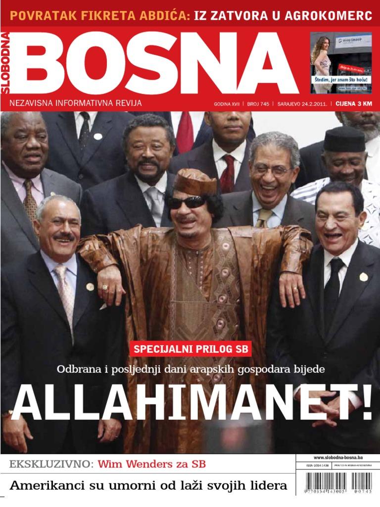 Alba Jove Olesti Porno slobodna bosna [broj 745, 24.2.2011]