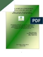 Variabilidad Industrial en Muestreo de Materia Prima