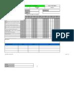 Formato Insp. Preoperacional Del Taladro Manual