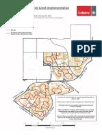 Neighbourhood Speed Limit Map Ward2