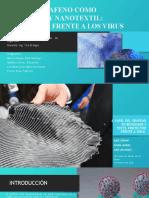 EXPOSICION 4-Papel del grafeno en biosensor y textil protector. Final (1)