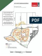 Neighbourhood Speed Limit Map Ward3