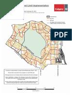 Neighbourhood Speed Limit Map Ward4