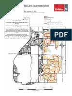Neighbourhood Speed Limit Map Ward5