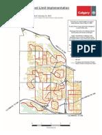 Neighbourhood Speed Limit Map Ward6