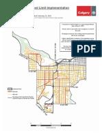 Neighbourhood Speed Limit Map Ward8